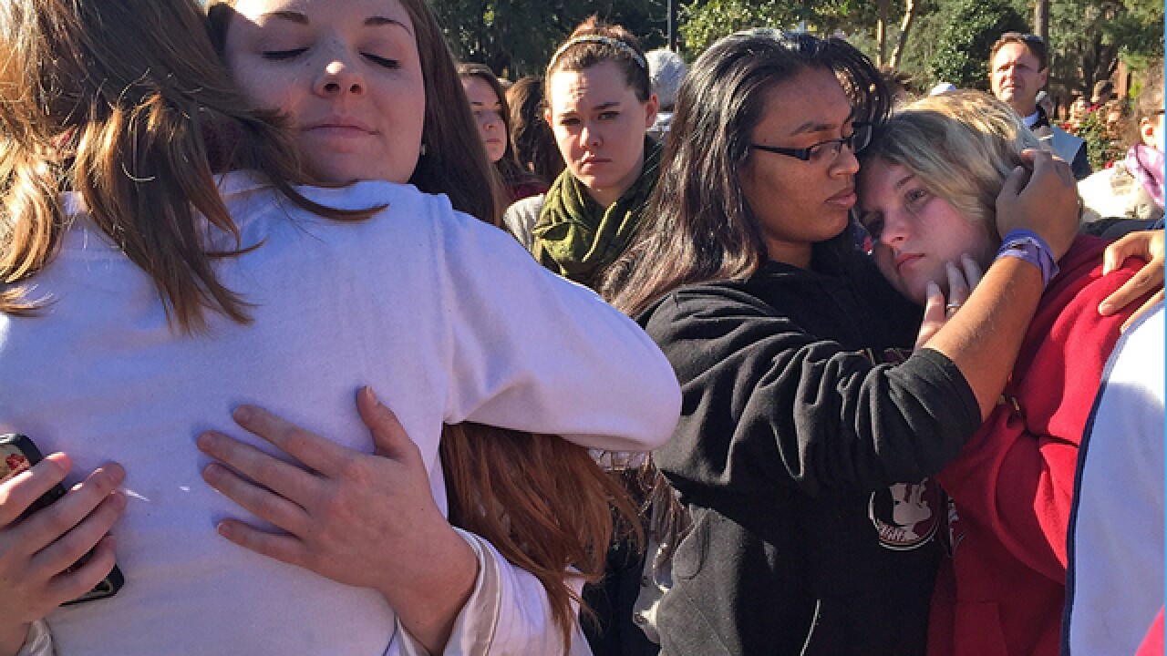Your Photos: Students unite after FSU shooting
