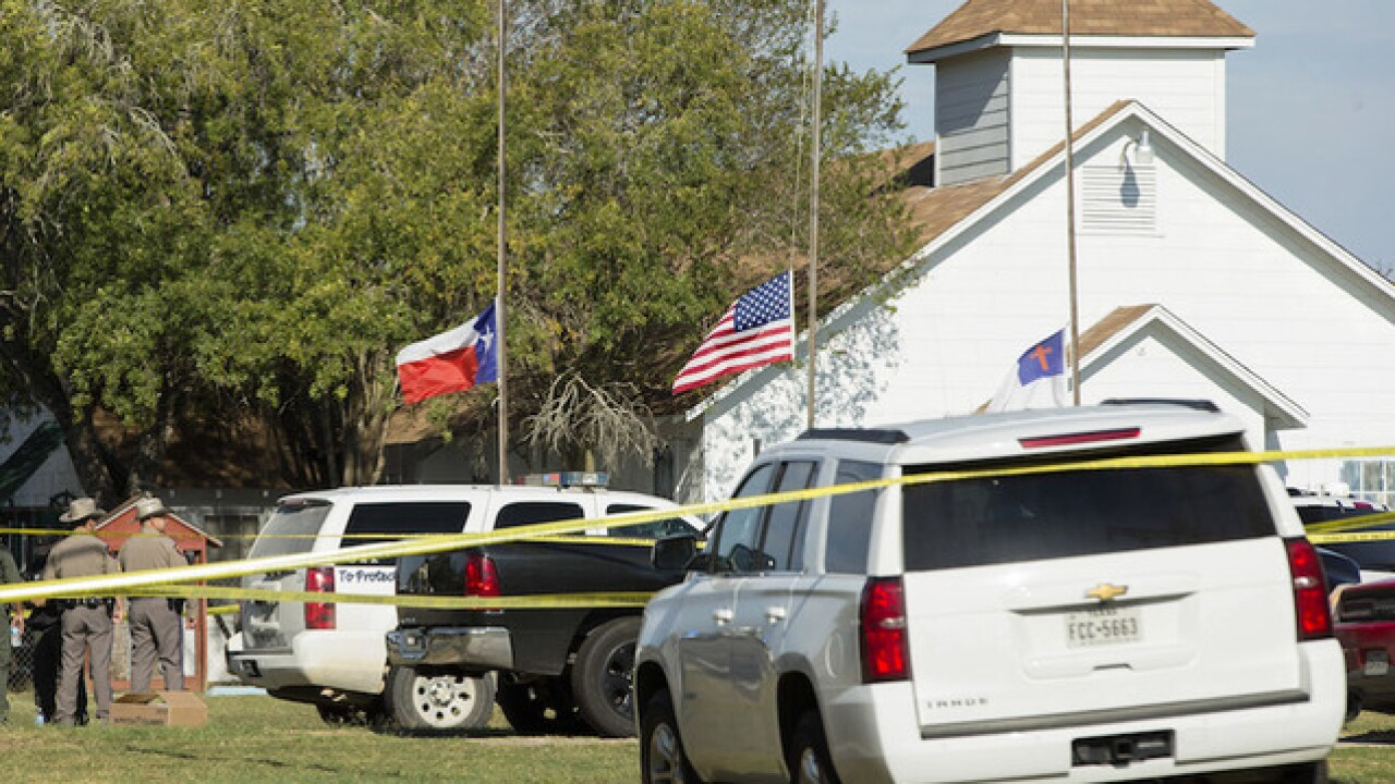 Texas church where 26 died to be demolished