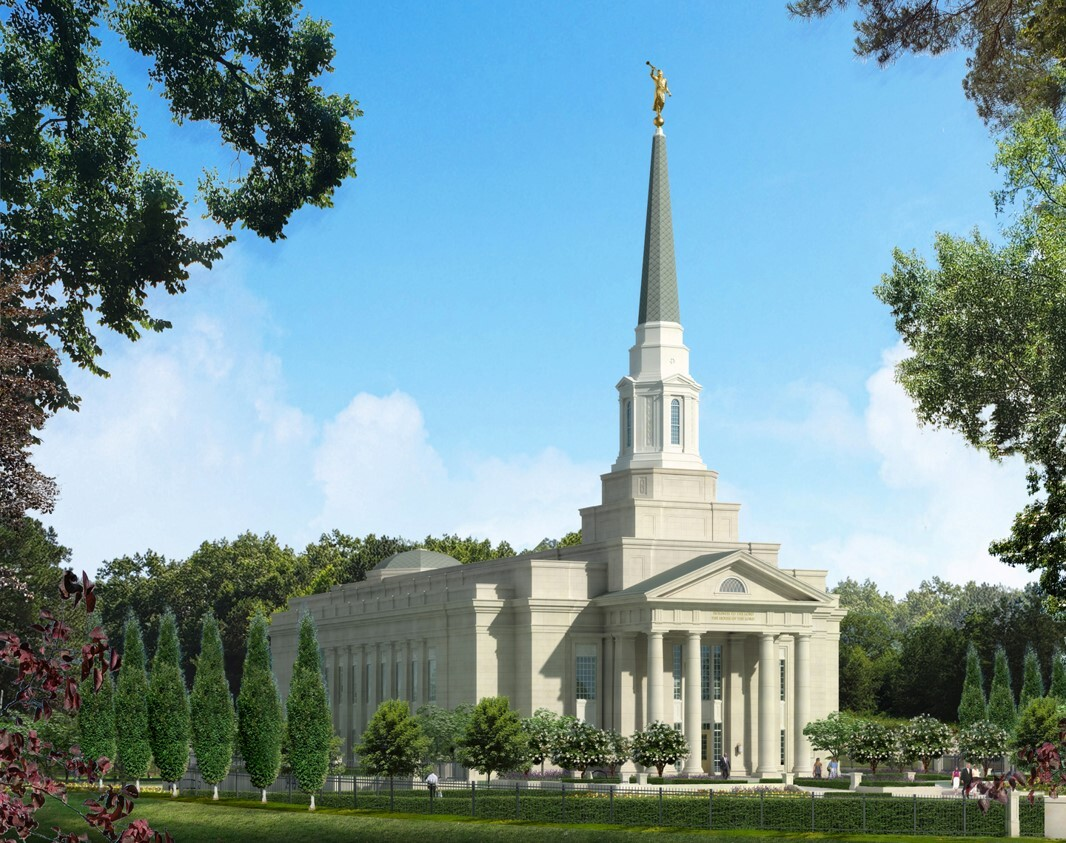Photos: LDS Church releases renderings for the new Richmond Virginia Temple