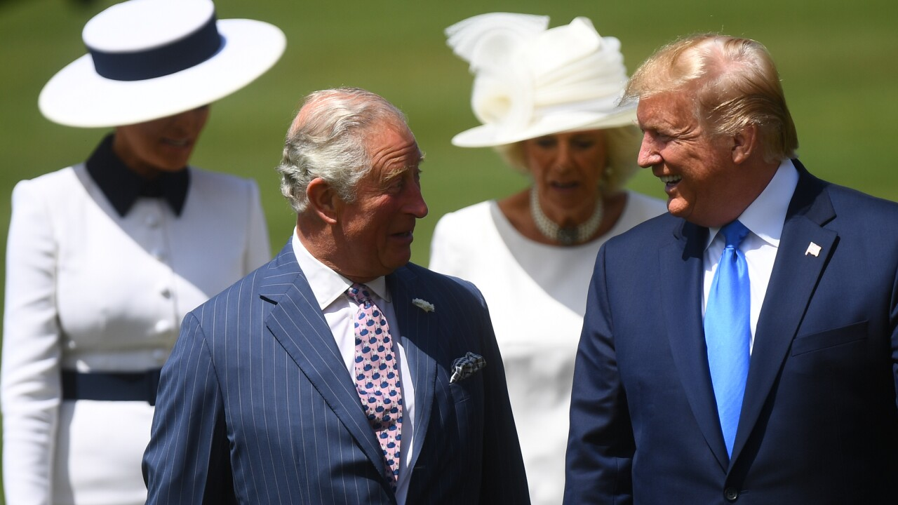Donald Trump and Prince Charles have developed a 'good working relationship', source says