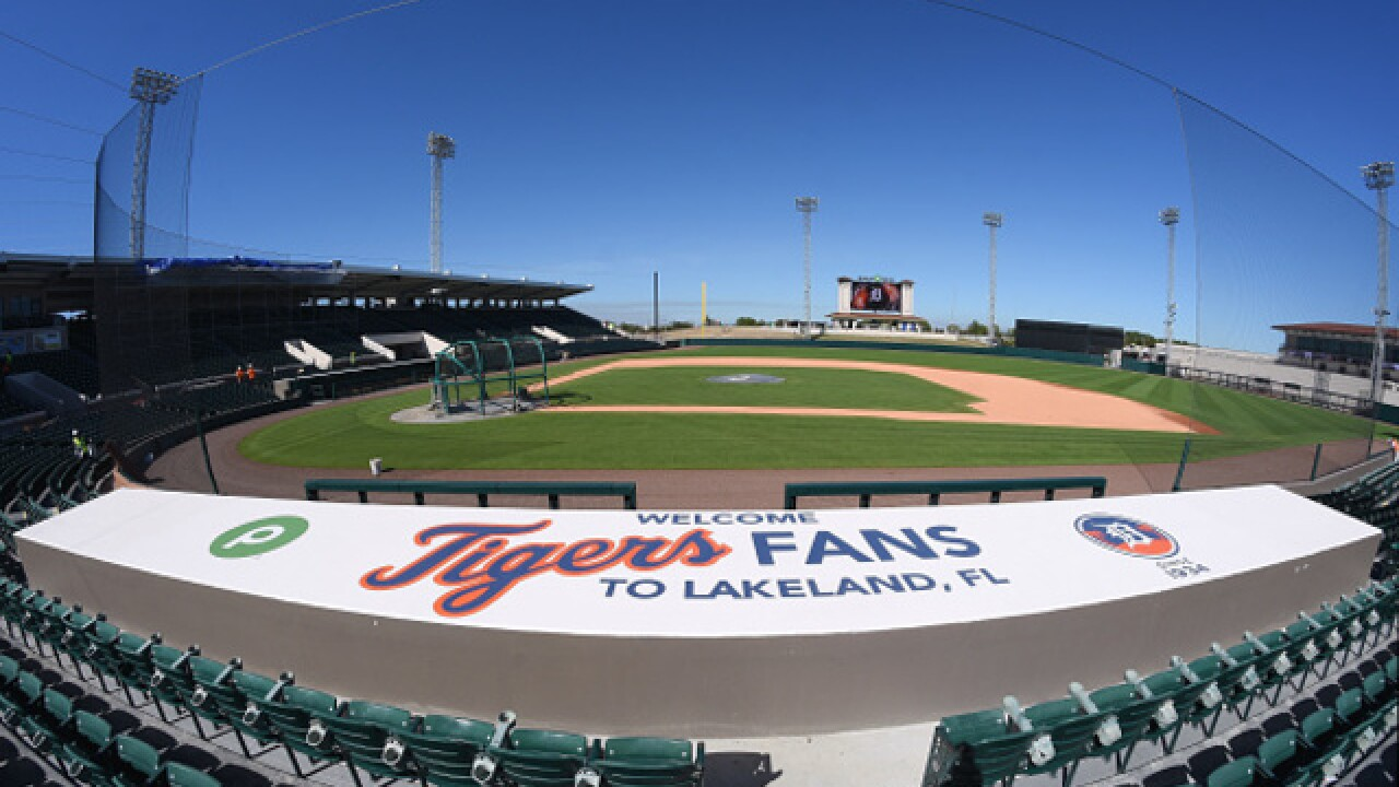 Tigers pitchers and catchers report to Spring Training on February 13