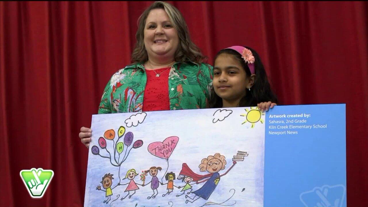 The Virginia Lottery 'Thank-A-Teacher' campaignreturns