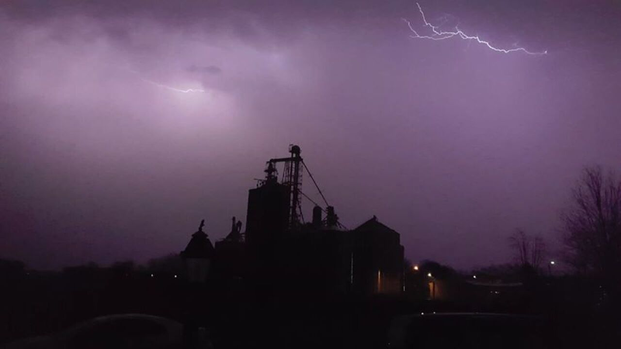 Lightning in Sunfield - Courtesy Ryan Feasal via Facebook Messenger.jpg