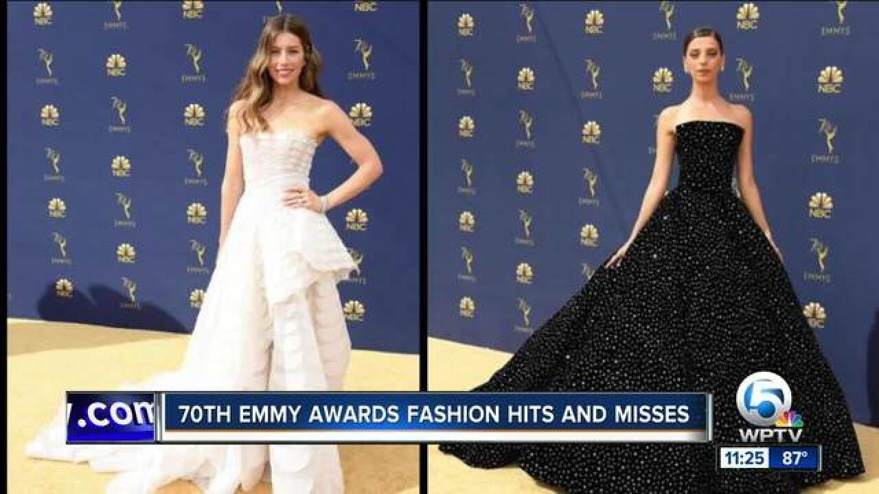 Fashion hits and misses of 2018 Emmys