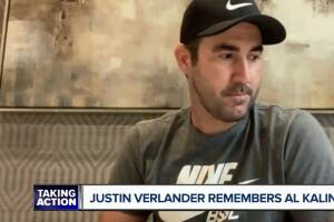 WATCH: Justin Verlander remembers 'Mr. K,' Al Kaline and the bond they shared