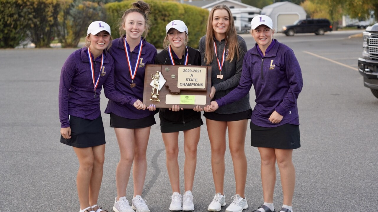 Laurel girls golf 2020