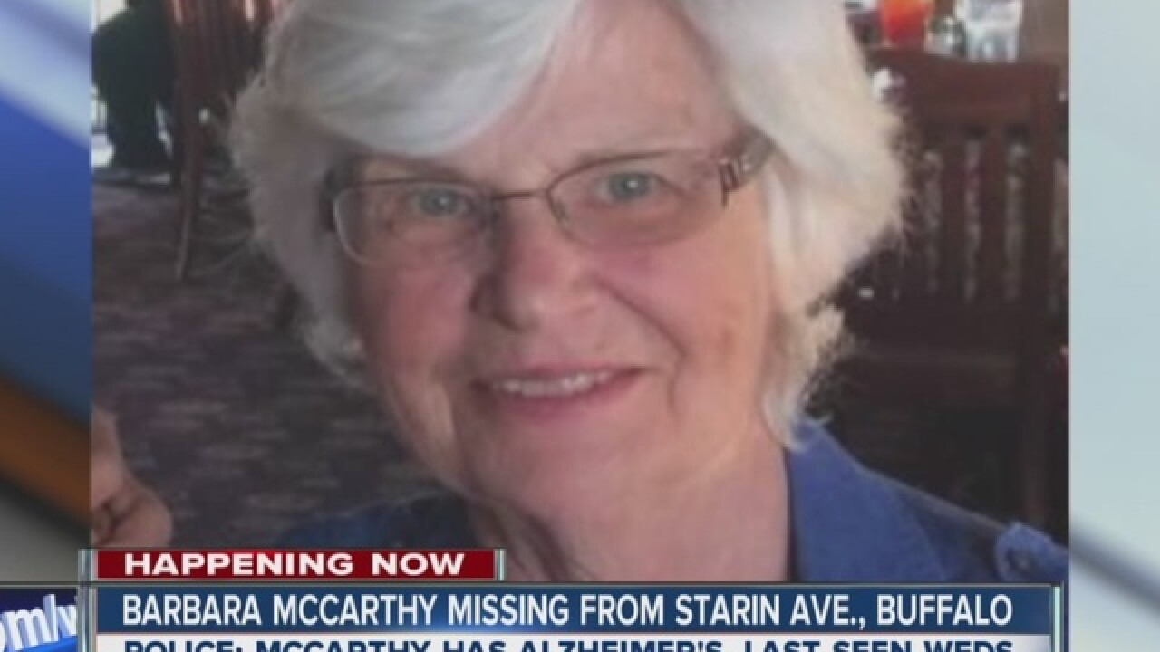 Woman with dementia missing for a second time