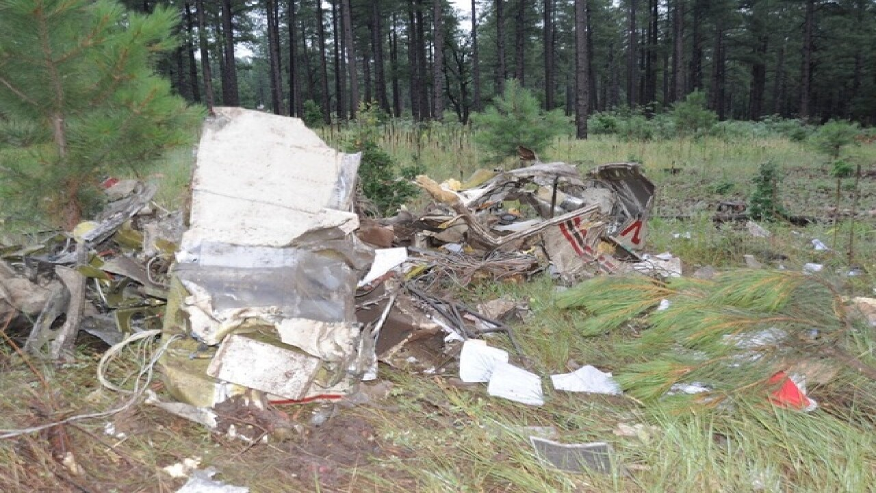FD: 1 killed in plane crash near Flagstaff
