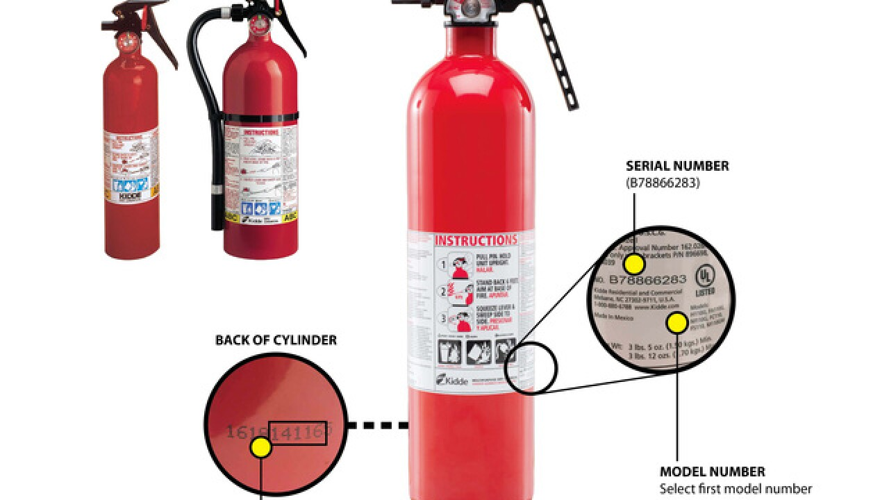 37.8M fire extinguishers recalled, 1 death