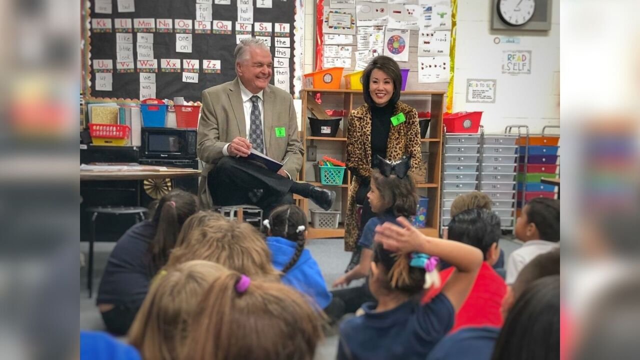 Sisolak reading Carson City school.jpg