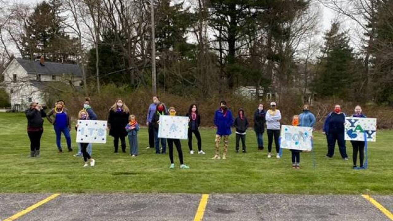 St. Vincent Charity Medical Center nurses throw a surprise parade.