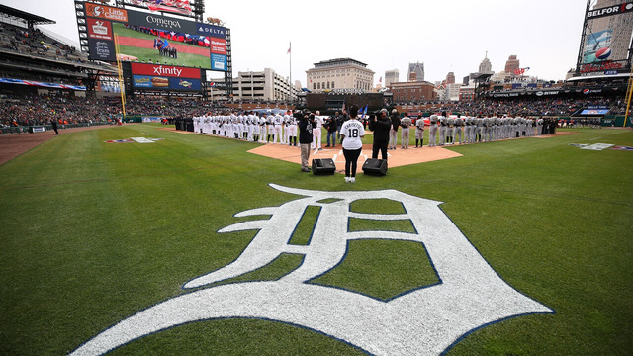 Detroit Tigers move up start time for Sept. 10 game for Lions Monday Night Football game