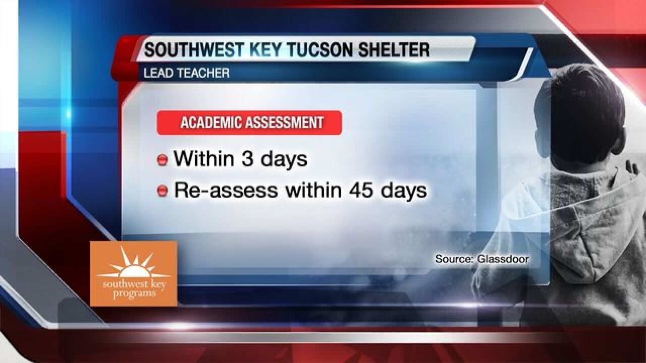 What goes on in Tucson immigrant kids' shelter?