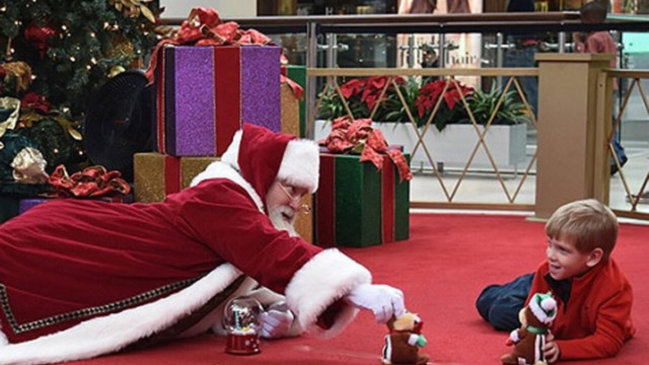 'Quiet Santas' helping children with special needs enjoy the holidays