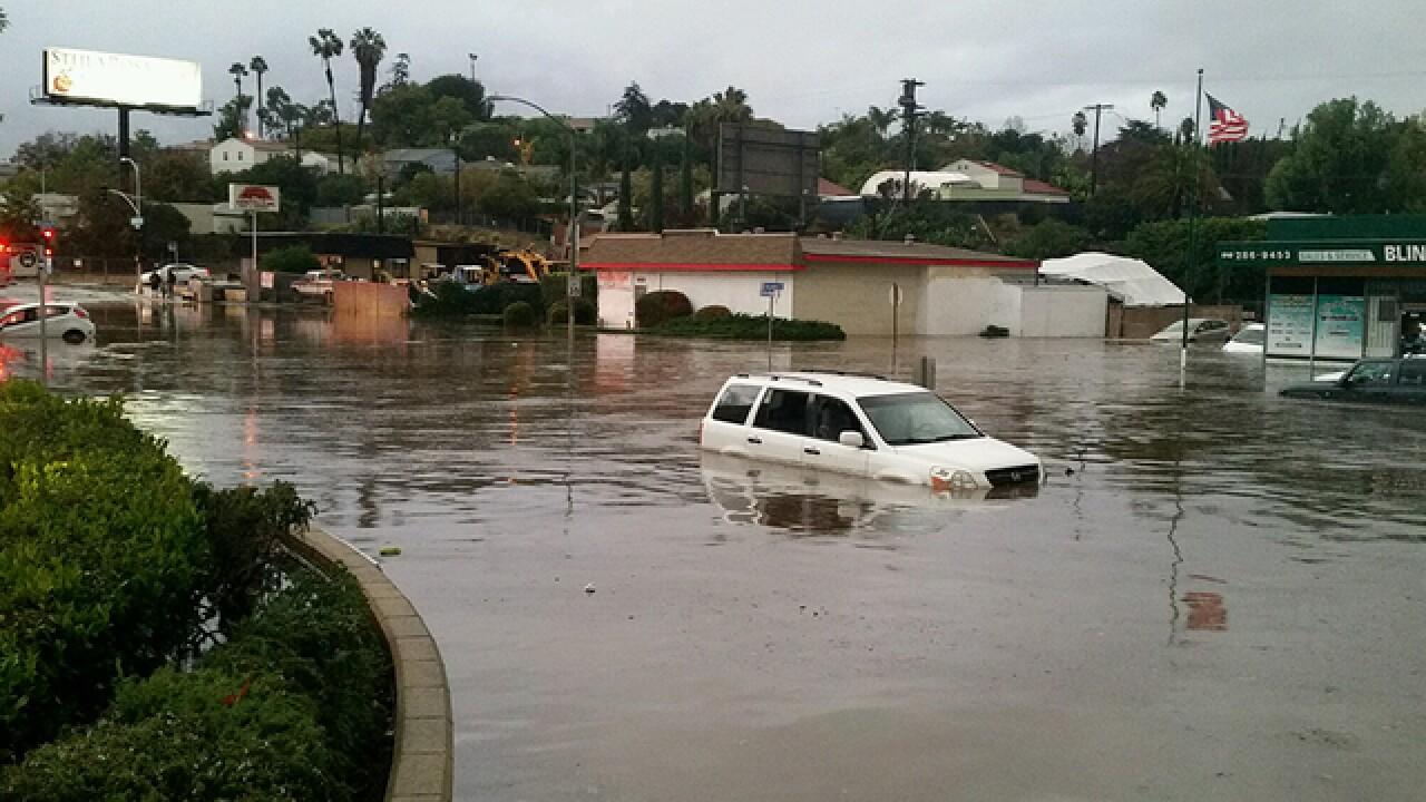 Social media: Flooding around San Diego County