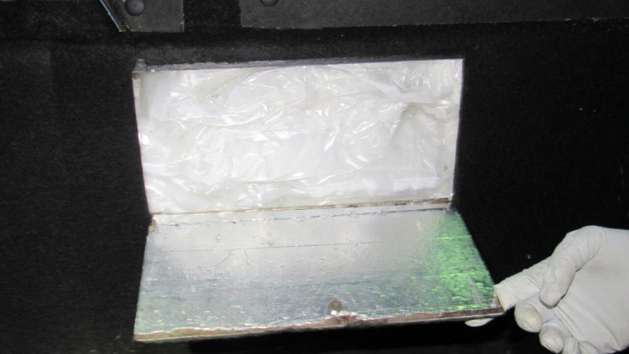 CBP officers at the Port of San Luis seized 142 pounds of methamphetamine hidden a truck driven by a 35-year-old woman, who was a U.S. citizen.