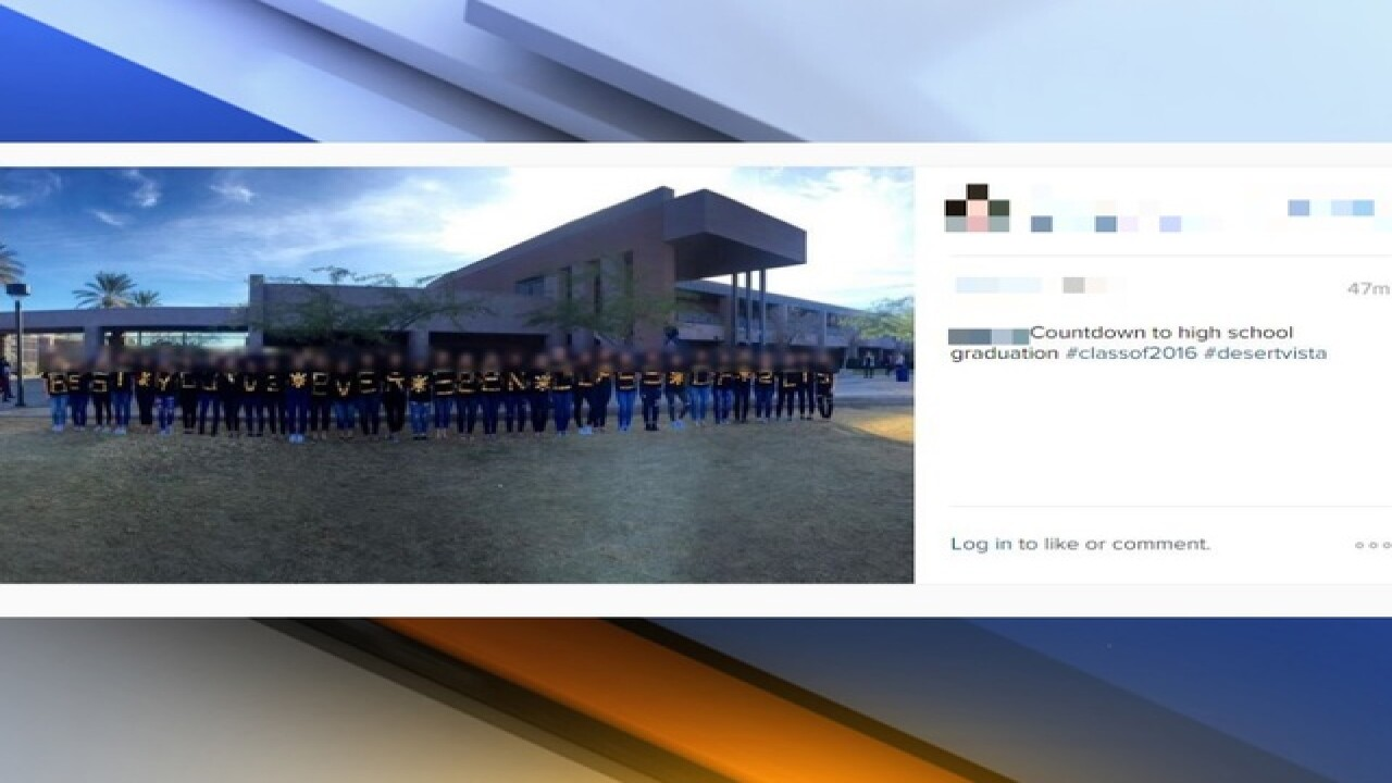 District 'aware, outraged' by racist photo