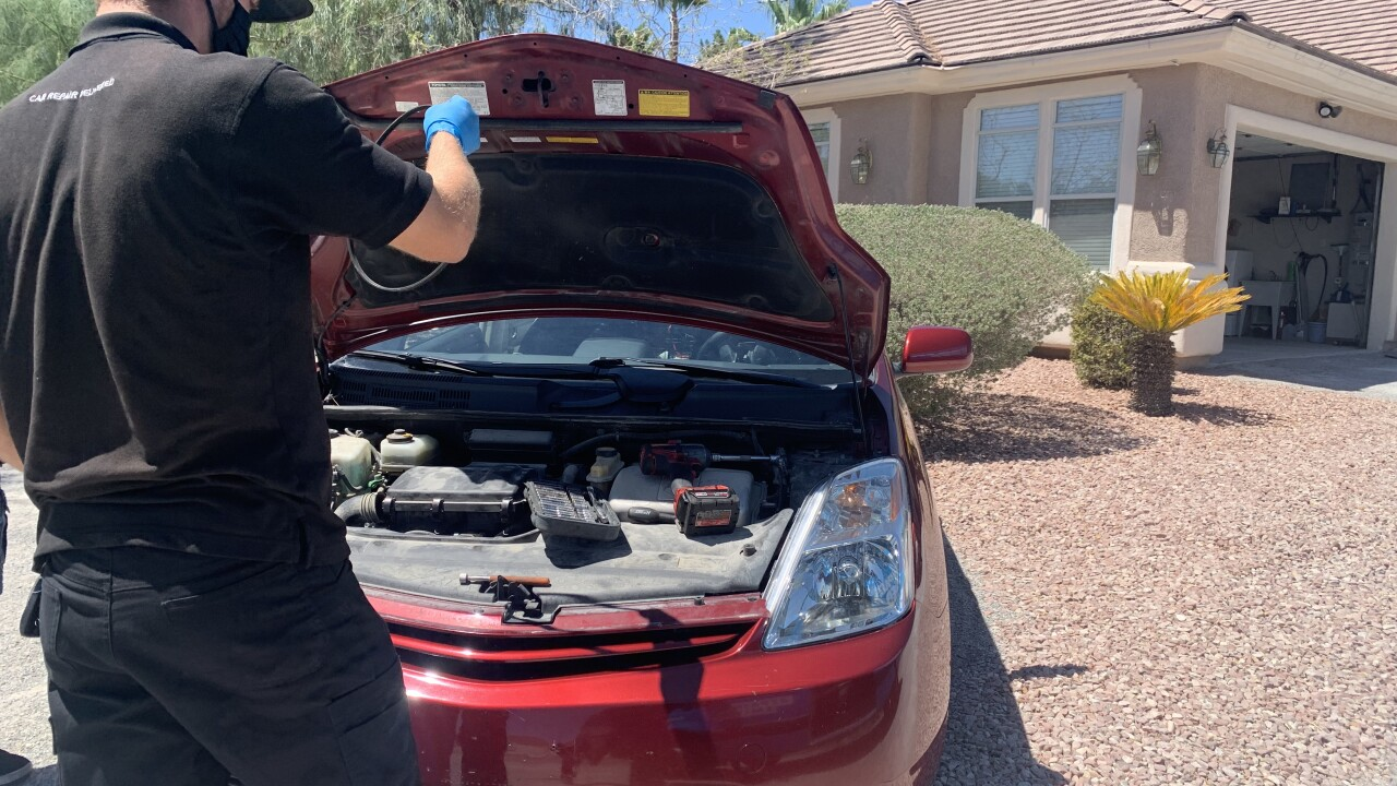 RepairSmith provides contactless car maintenance, repairs in your driveway