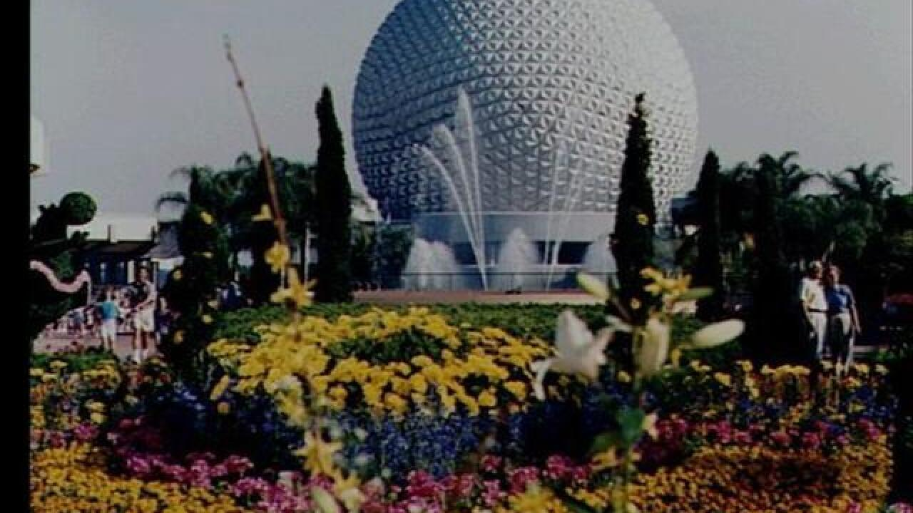 Spaceship Earth becomes Death Star at Disney World
