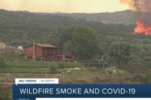 In-Depth: Wildfire smoke and COVID-19