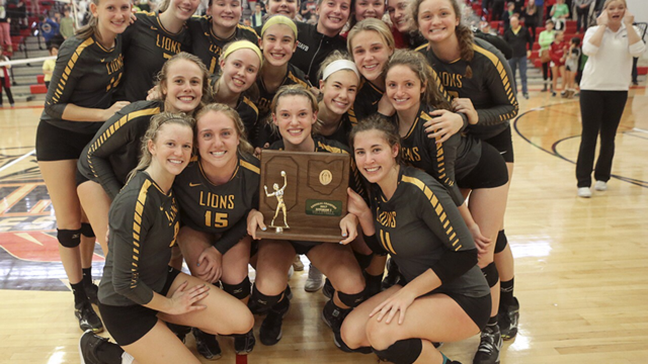 PHOTOS: Ursuline tops Mount Notre Dame rival for regional title