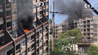 Bronx apartment fire