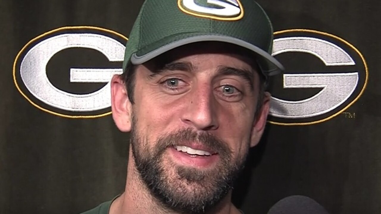 Aaron Rodgers shares his 'weirdest' moment in the NFL
