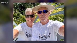 Walking Club Walkers of the Week: Tammy and Russ