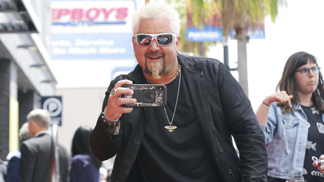 Guy Fieri - AP Photo