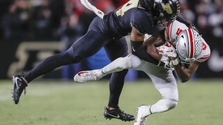 Purdue wins against Ohio State 49-20
