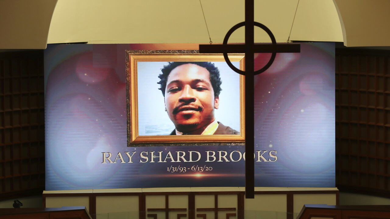 Atlanta's Ebenezer hosts viewing for Rayshard Brooks