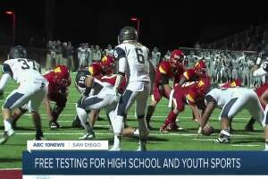 Free testing being made available for high school, youth sports