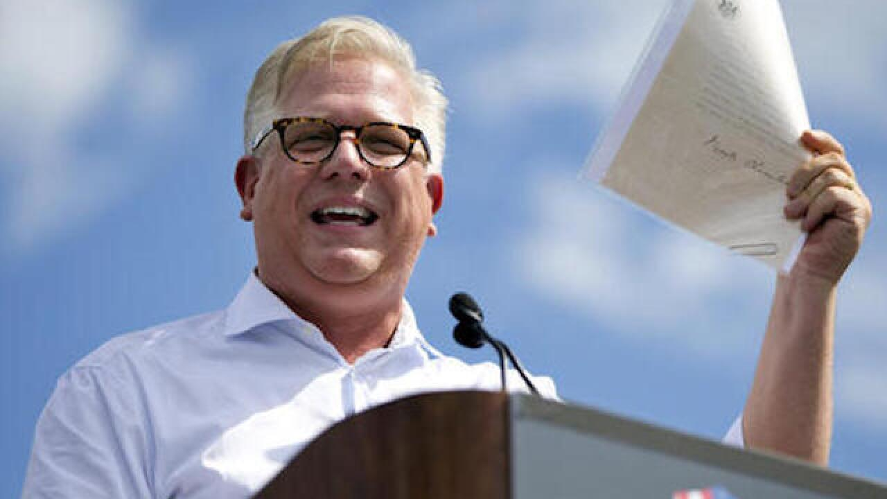 Glenn Beck suspended over Trump comments