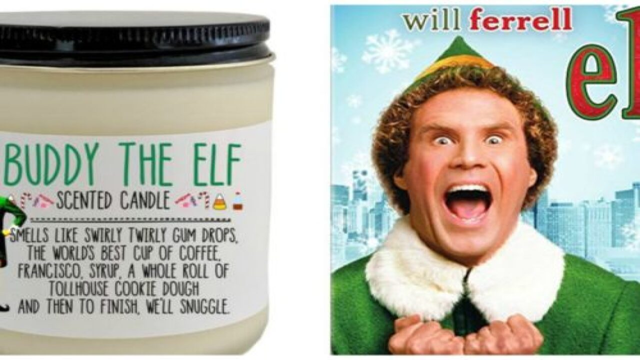 You Can Buy A Buddy The Elf-scented Candle That Smells Like 'swirly Twirly Gum Drops And Cookie Dough'