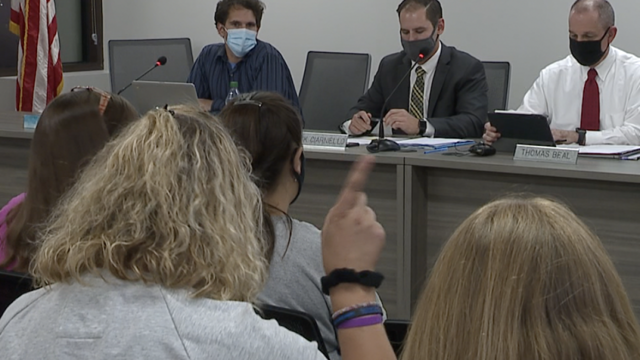 Willoughby parents fight against attempted removal of middle school principal