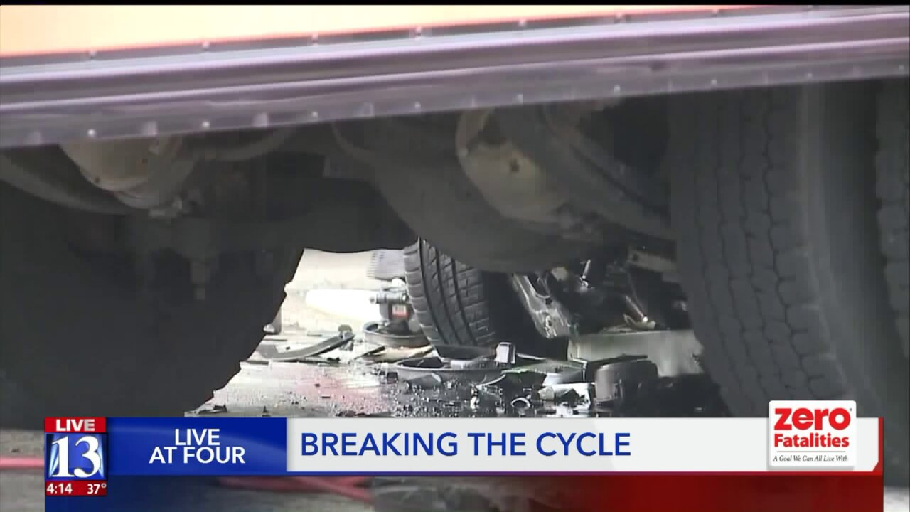 Utahns urged to break cycle of fatal Valentine's Day crashes