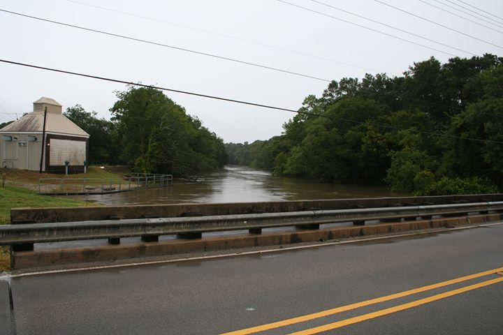 Vermilion River at Surrey Street in Lafayette