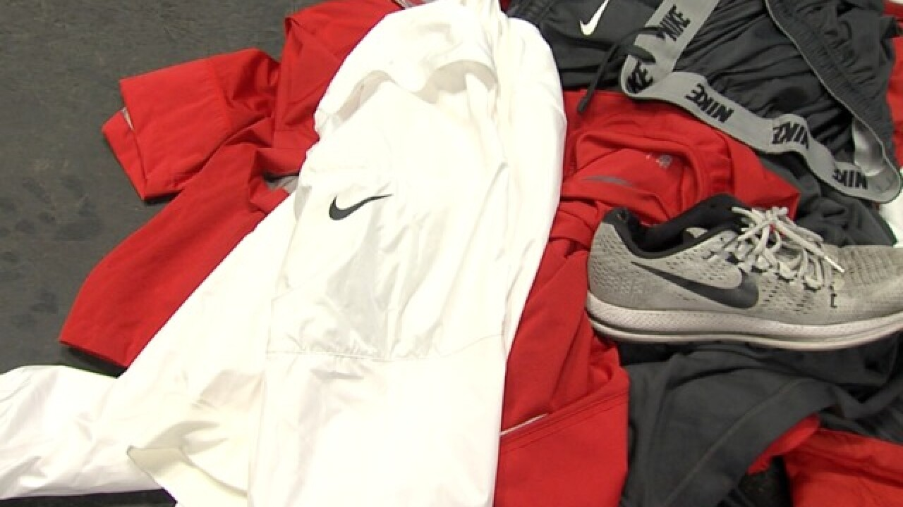 Local charity asking people to donate Nike items