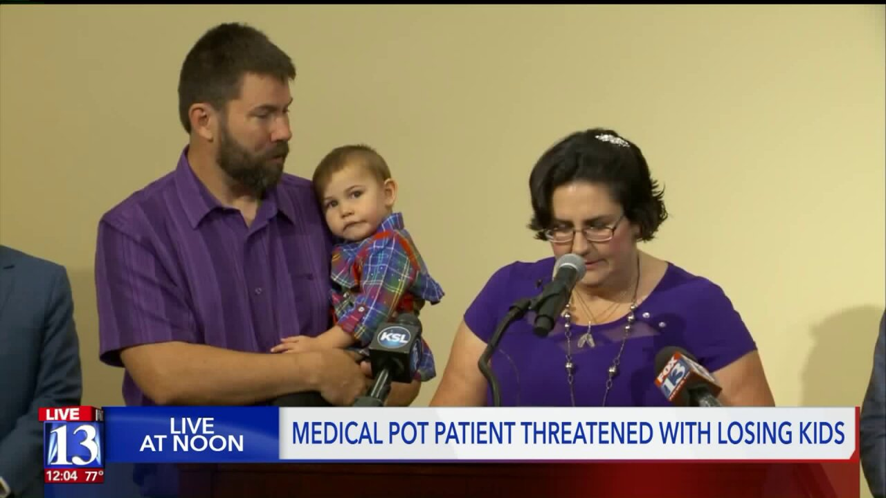 Utah mom says she faces loss of custody due to THC, despite being legal medical cannabis user