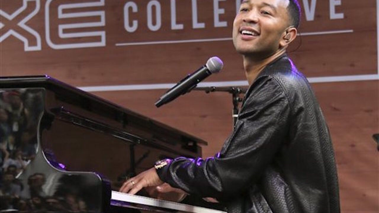 John Legend to perform anthem at NBA Finals