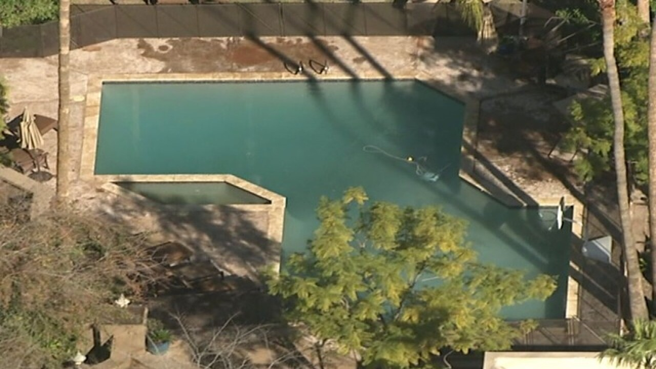 FD: Child in critical after near drowning in PHX