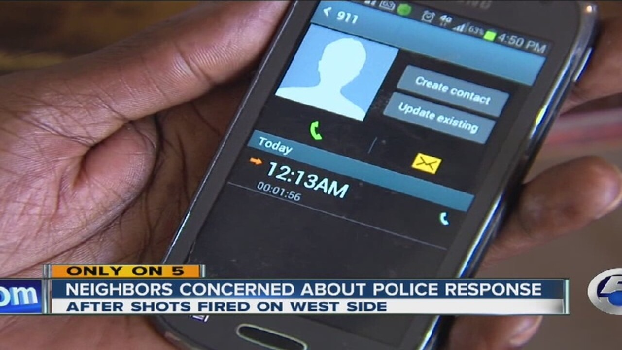 CLE Police policy questioned after drive-by