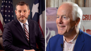 Senators Cruz and Cornyn