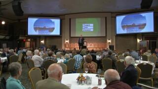 Sen. Tester addresses Montana Farmers Union