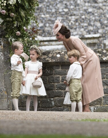 Photos from Pippa Middleton's elegant wedding to James Matthews