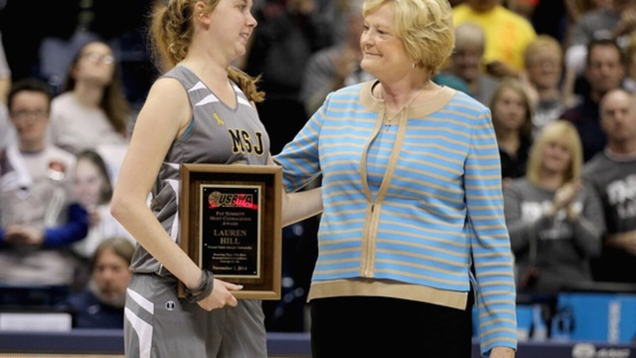 Pat Summitt bonded with Lauren Hill before her death