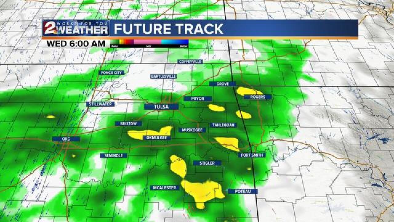 BLOG: Talking rain chances this week
