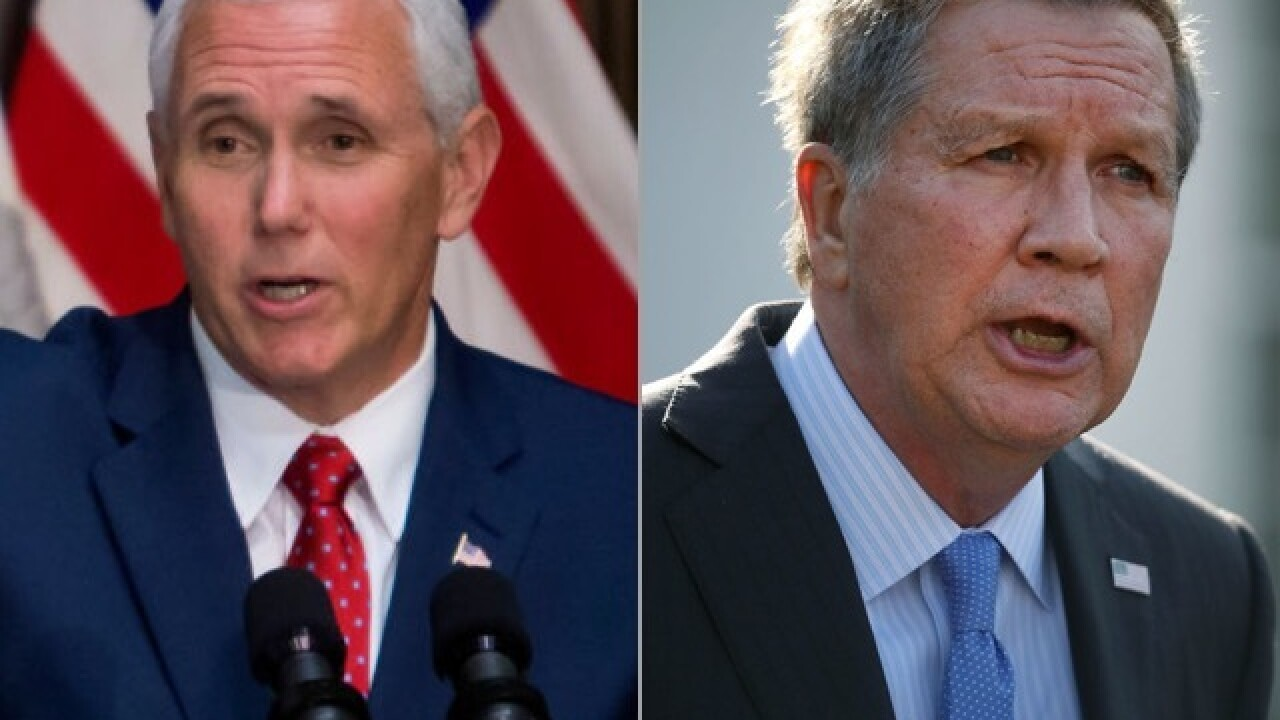 Pence to speak at, Kasich to skip Ohio GOP's annual dinner