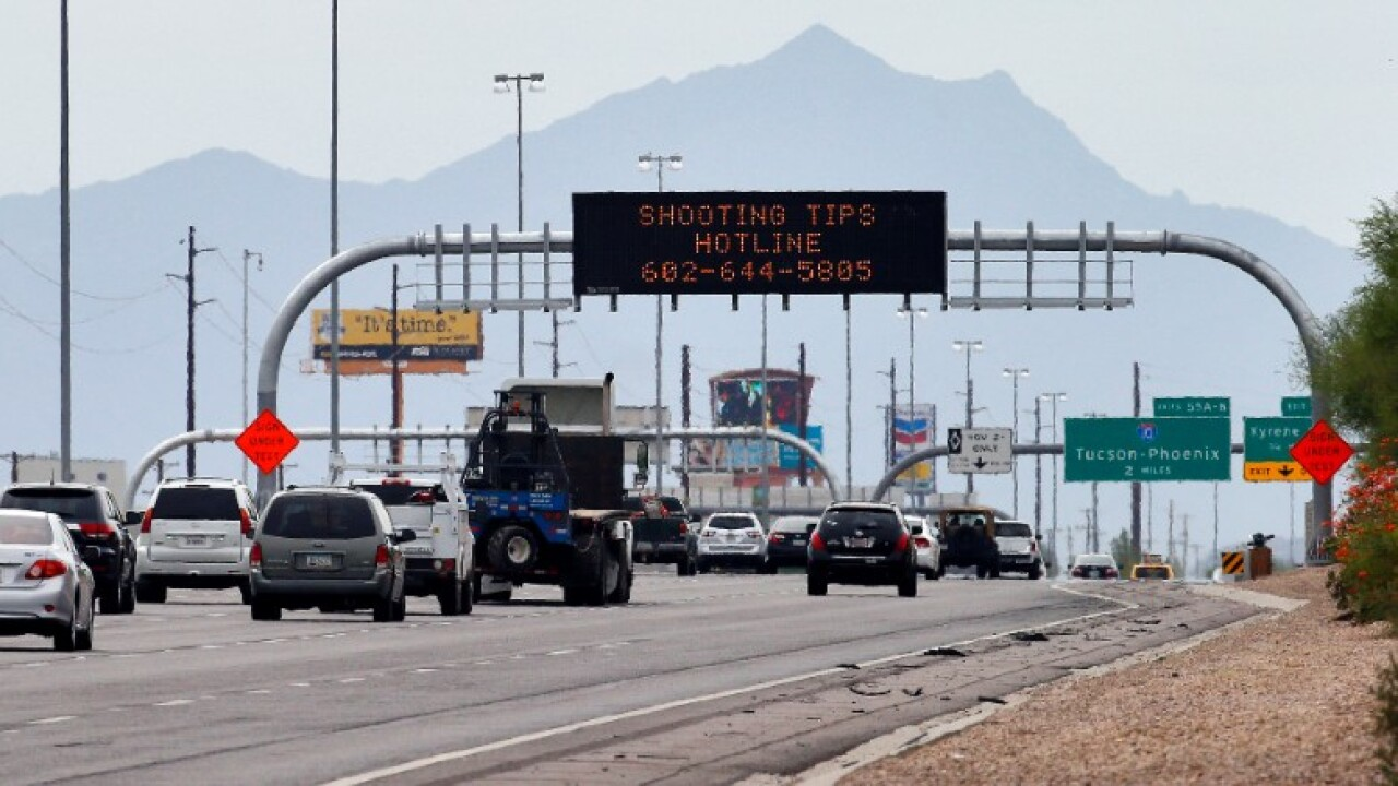 Group of armed citizens in Phoenix vows to find I-10 gunman