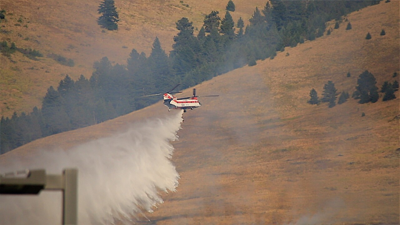 Missoula County DES praises agencies for coordinated attack on Mt. Sentinel fire